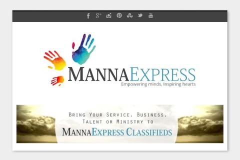 MannaExpress Online a news website on WordPress